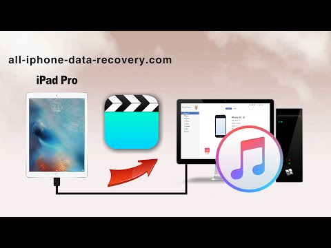 How to Sync Videos from iPad Pro to iTunes, Transfer iPad Pro Video to iTunes