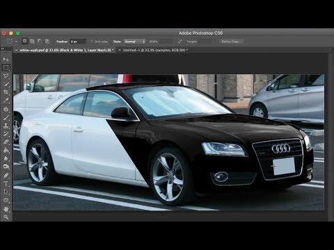 Change color from white to black | Photoshop CC, CS6, CS5