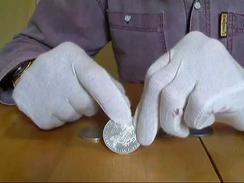 How To Test For Silver | Gold Testing For Fake Coins With A Neodymium Magnet Tester