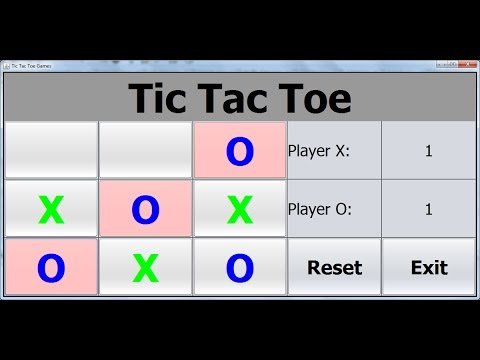 How to Create a TicTacToe  Game in Java NetBeans