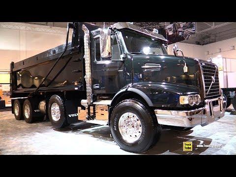 2019 Volvo VHD 84B Dump Truck - Exterior and Interior Walkaround - 2018 Truckworld Toronto