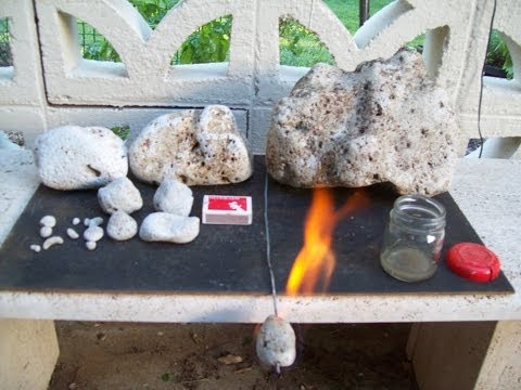 Pumice Stone Fire Lighter