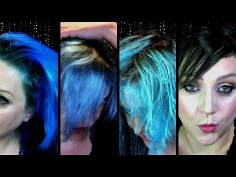 How I Melted My Hair Trying To Remove Blue Hair Dye or The Spaghetti Hair Disaster!