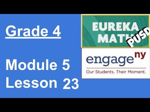 Eureka Math Grade 4 Module 5 Lesson 23