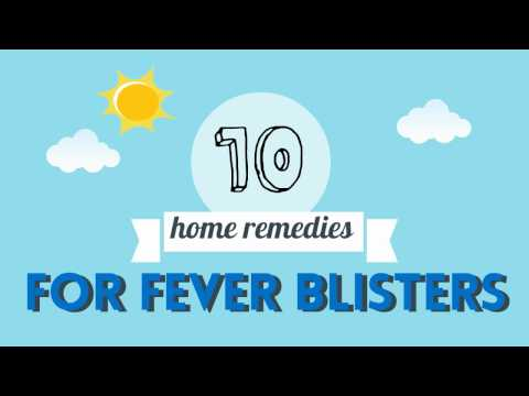 10 Home Remedies For Fever Blisters