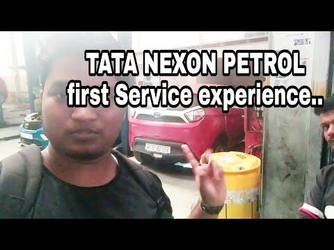 TATA NEXON FIRST SERVICE EXPERIENCE|NO FREE SERVICE FOR TATA NEXON need to pay 120 Rs