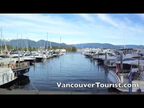 Vancouver Coal Harbour tour from the Vancouver Seawall