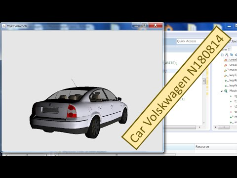 How to Import an Archive 3D Car Model and Java 3D Source Code in Eclipse_1