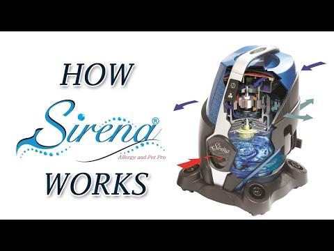 How Sirena Works - Best Bagless Vacuum Cleaner