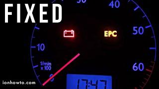 Epc Light Fix In Vw Polo 9n 2003 1 2 Azq