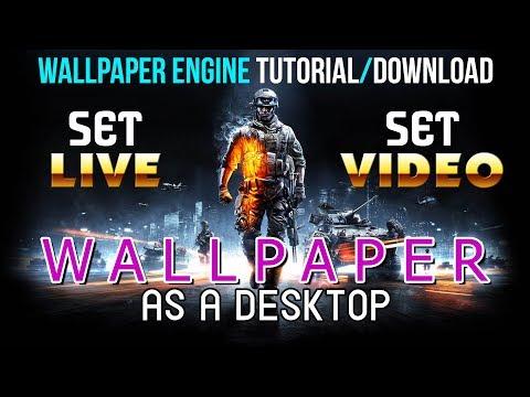 Wallpaper Engine Tutorial | How To Set Video As A Desktop Wallpaper Win 7810