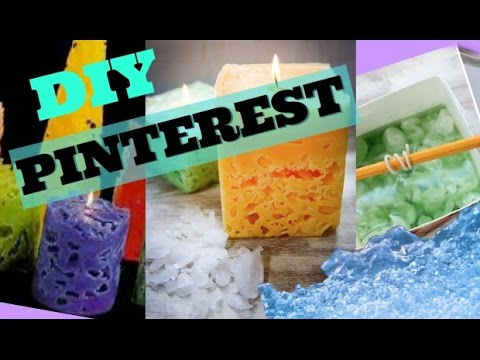 DIY PINTEREST ICE CANDLE - Maddie Ryles