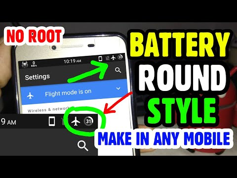 Change Rounding Battery Style in Any Android || Non Rooted+ Rooted || Awesome Battery Styles