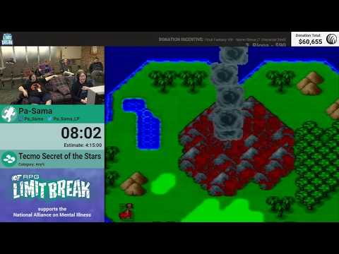 Tecmo Secret Of The Stars by Pa-Sama (RPG Limit Break 2018 Part 32)