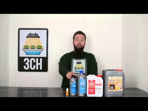 3CH Guide to the Hesi Nutrient Additive Range