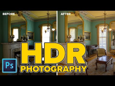 HDR in PHOTOSHOP + Camera RAW CC 2018 | What you need 2 know now!