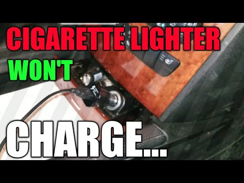 Mercedes Cigarette Lighter Issues | Auxiliary Power