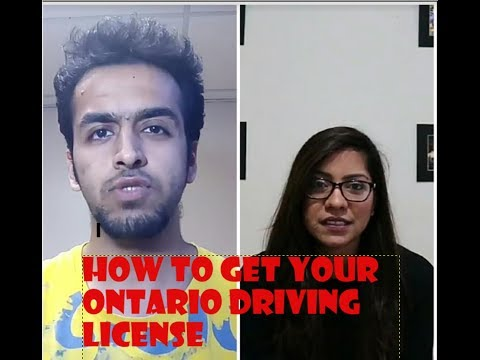How to get your Driving License in Ontario, Canada?