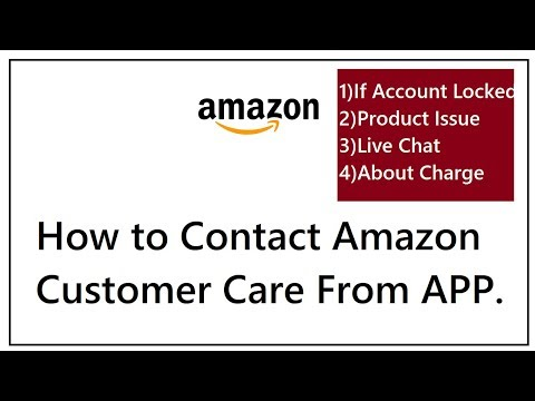 How to contact Amazon customer care Support