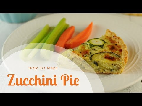 Easy Zucchini Recipe: AMAZING Zucchini Pie