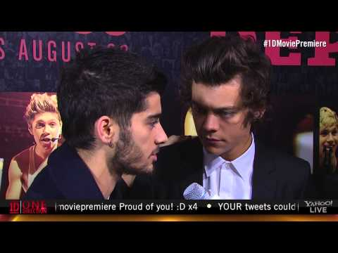 One Direction: This Is Us Red Carpet Premiere - Interview with Taryn Southern and Matt Edmondson