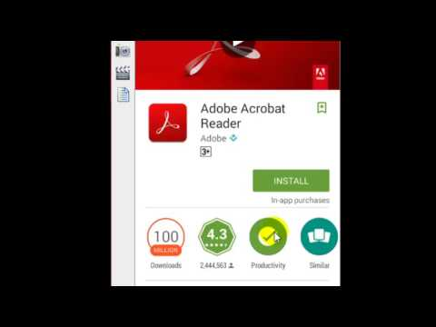 How to open PDF files in Android phone