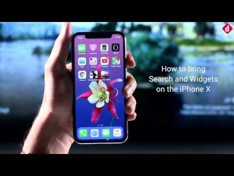 How to bring Search & Widgets on the iPhone X | Digit.in