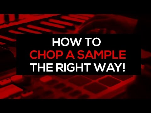 Beatmaking tutorial : How to chop a sample the right way and make a beat from it