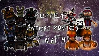 Speed Edit FNAF Making Puppet Animatronics FNaF 3,67Z_O