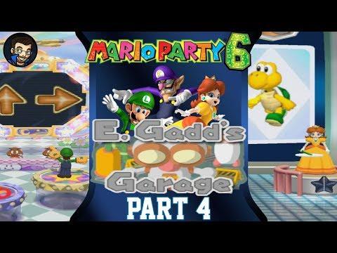 Mario Party 6 | E. Gadd's Garage - Part 4/7