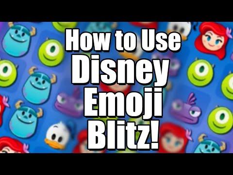 How to Use Disney Emoji Blitz | Tutorial + Review