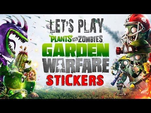 Plants vs. Zombies: Garden Warfare - Craaazy Sticker Pack Opening