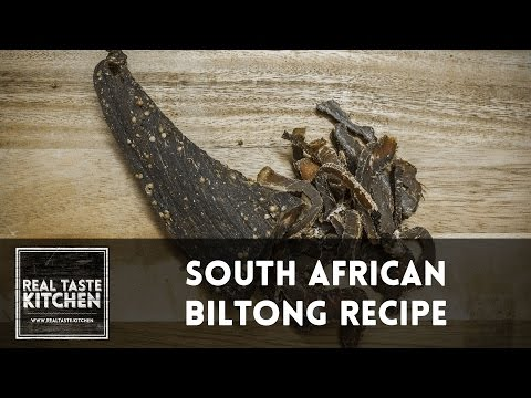 Biltong - Savanna Grill | Real Taste Kitchen Recipe