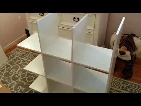 Room Essentials 9 Cube Organizer Assembly How To