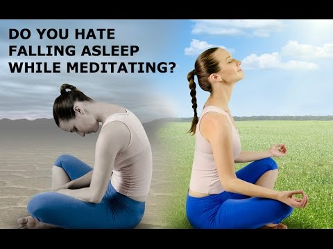 Falling Asleep During Meditation & What To Do About It!