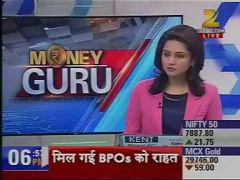 Money Guru Zee Business 10 May, 16