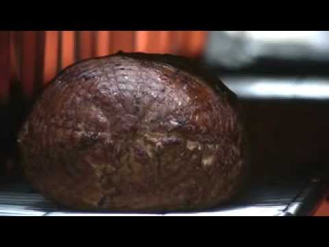 26. Infrared Smoking & Browning Black Forest Ham | Unitherm