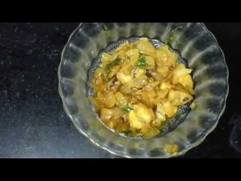 Dry Fish (Karuvadu in Tamil) Fry - Semi Gravy with English SubTitles