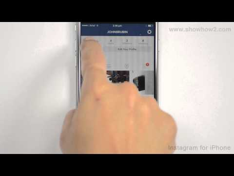 Instagram For iPhone - How To Set A Profile Photo