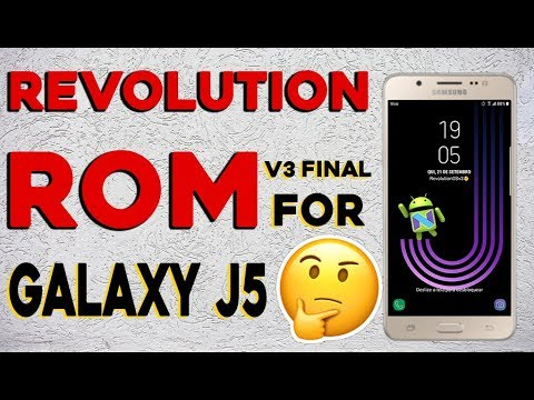 ROM 7.0 Revolution OS v3.0 J5 2015 FINAL