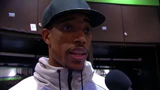 DeMar DeRozan Postgame Interview / Raptors vs Timberwolves / Jan 20