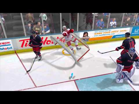 NHL 14: The Dancing Player Glitch