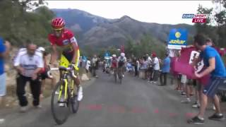 Alberto Contador's Attack best of Vuelta 2014