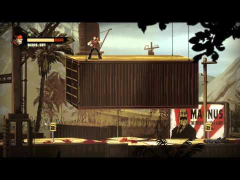 Shank 2 Walkthrough Level 3: Dirty Docks [Commentary][HD]