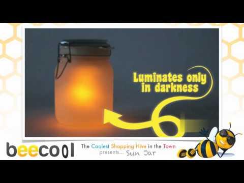 Sun Jar: Solar Powered LED Lamp