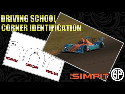 Simpit Driving School - Identifying Corners