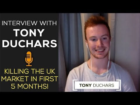 How Tony  Makes 10K/Month On Amazon UK - IN HIS FIRST 5 MONTHS SELLING!