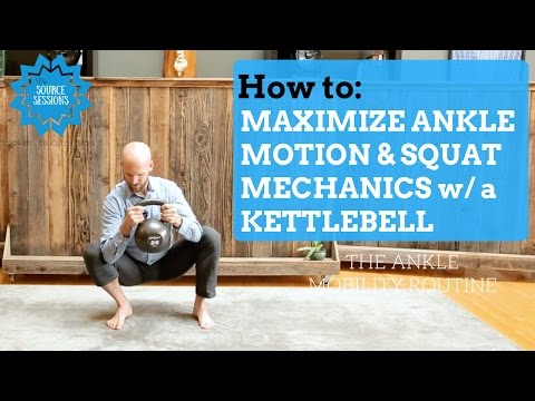 IMPROVE YOUR SQUAT and Ankle Mobility with a Kettlebell by The Source Chiropractic