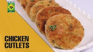 Cripsy Chicken Cutlets | Food Diaries |  Masala TV Show | Zarnak Sidhwa