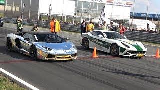 Lamborghini Aventador LP700 vs Ferrari F12 berlinetta
